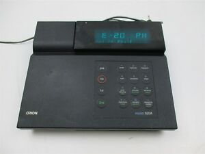 Orion 520a Digital Bench Ph Meter Ph mv rmv orp Professional Lab Unit Deck