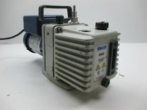 Welch 8905 Vacuum Pump With Franklin Electric 1603007402 Motor 3450 Rpm 1 4 Hp
