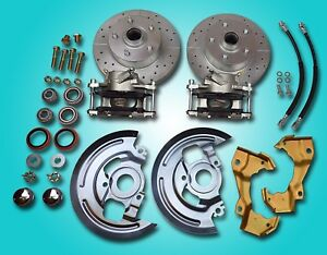 1964 1972 Gm A Body Deluxe Front Disc Brake Refresh Repair Kit All New Parts