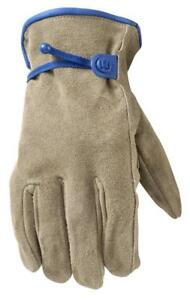 Wells Lamont Leather Work Gloves Hydrahyde Suede Cowhide Extra Large 1014xl