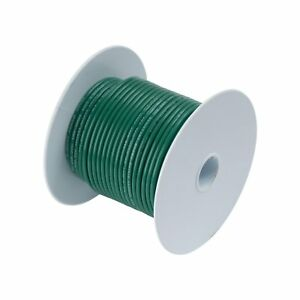 Calterm 52123 Electrical Primary Wire 100 Ft 12 Awg Green