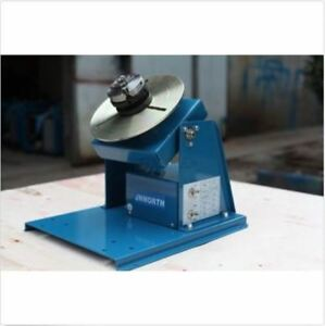 Turntable Mini 2 5 New Rotary Welding Positioner By 10 3 Jaw Lathe Chuck H
