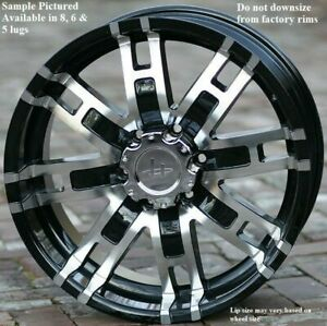 4 New 18 Wheels Rims For Chevrolet Silverado 1500 K 1500 C 2500 K 2500 6808