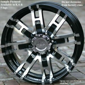 4 New 18 Wheels Rims For Nissan Armada Frontier Titan Pathfinder Xterra 6808