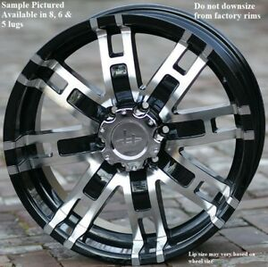 4 New 20 Wheels Rims For Acura Slx Hummer H3 Cadillac Escalade Kia Sedona 6809