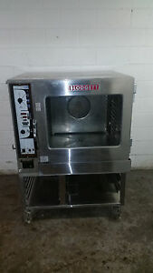 Blodgett Combi Bc14e ab Combination Oven Steamer 208v 3 Phase Tested W Stand