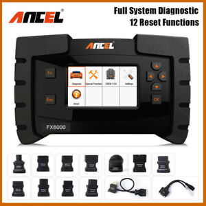 Ancel Fx6000 Full Systems Abs Airbag Oil Reset Epb Tpms Dpf Sas Auto Scan Tool