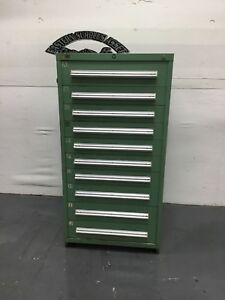 Stanley Vidmar 10 Drawer Industrial Storage Cabinet