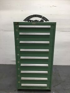 Stanley Vidmar 9 Drawer Industrial Storage Cabinet