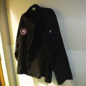 Chef Jacket 2 lot Medium Brown Uncommon Threads 0403 Special Usap Emblem