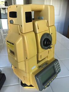 Topcon Gpt 8205a Electronic Total Station Calibrated