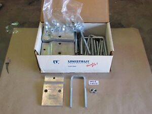 lot Of 23 New In Box Unistrut 120403 Beam Clamp With U bolt