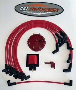 1986 1995 Ford F150 Bronco 5 0l 302 Tune Up 48k Volt Powerboost Upgrade Kit Red