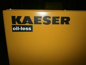 Kaeser Airbox 850t Oil Free Compressor 125 Psi New 2007