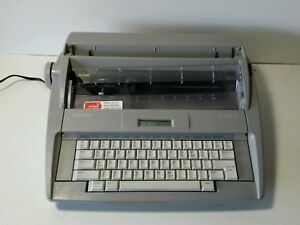Brother Electric Portable Typewriter Sx 4000 Tape Ribbon Vgc for Parts