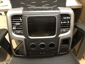 2009 2017 Dodge Ram 1500 2500 Center Console Dash Bezel Take Off 17 Ram Sport
