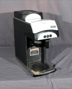 Bunn 392 2 warmer Pour over 2 warmer Coffee Maker Brewer Pn 37800 0015