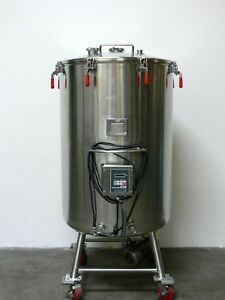 Mw Bulling 750 Liter 316l Stainless Steel Mixing Tank W Steril Mixer