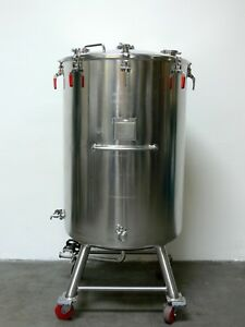 Mw Bulling 750 Liter 316l Stainless Steel Potable Tank W Top Lid