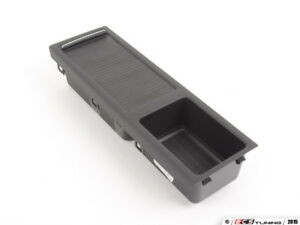 Genuine Bmw Center Console Storage Schwarz 51167038323