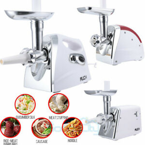 1200 Watt Electric Meat Grinder Kitchen Sausage Stuffer Small Home Appliances