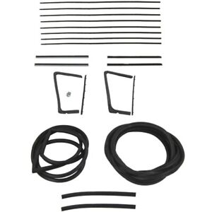 1955 1956 Buick Oldsmobile 88 98 2dr Hardtop Glass Weatherstrip Seal Kit