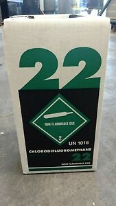 New R22 Refrigerant 5 Lb Factory Sealed Virgin Made In Usa Local Pick Up Only