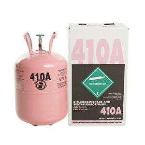 R410a 25 Lb new Factory Sealed Virgin Refrigerant Free Same Day Shipping