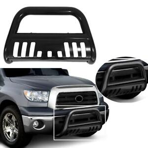 Stainless Steel Front Bull Bumper Bar Grill Guard For 2009 2018 Dodge Ram 1500