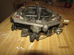 Vintage Carter Thermoquad 4 Barrel Pulled From A 440 Running Mopar 9248s