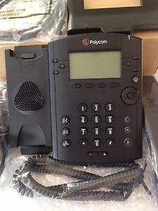 Polycom Vvx 310 Voip Sip Gigabit Business Media Phone 2201 46161 025 No Power
