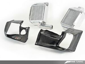 Awe Tuning Audi 2 7t Performance Intercooler Kit W Carbon Fiber Shrouds
