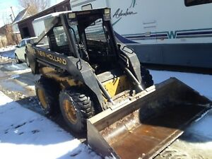 1600 Hours New Holland Skid Steer Loader Lx885 Turbo Diesel Loaders