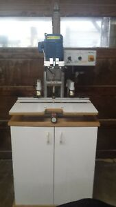 2004 Omal Insert C Hinge Boring And Insert Machine