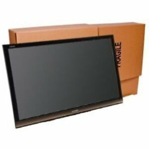 Box Mailers Uboxes Tv Moving Flat Screen Fits Tv s 32 To 70 Adjustable