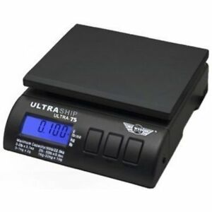 Postal Scales My Weigh Ultraship 75 Lb Electronic Digital Shipping Kitchen