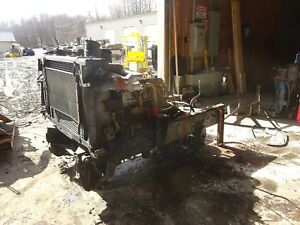 Caterpillar 3116 Turbo Diesel Engine Frame Cut Runs Exc Video Cat