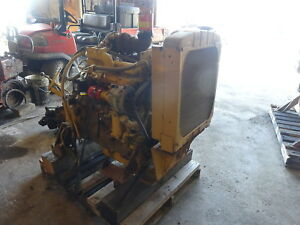 John Deere 4276t Diesel Engine Runs Mint Low Hrs Turbo 550 4 276