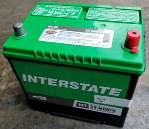 Car Battery Mt Interstate Mt 35 Vehicle Starting Battery