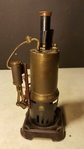Antique Bw Bing Toy Steam Engine Project