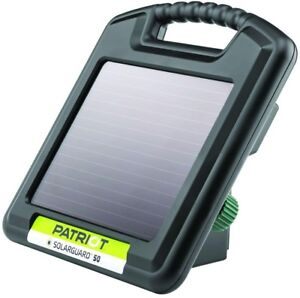 Patriot Solarguard 50 Energizer 0 05 Joule Electric Fencing Solar Powered