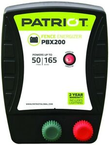 Patriot Pbx200 Battery Energizer 1 9 Joule Farm Poultry Electric Fencing
