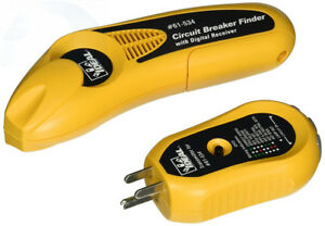 Ideal 61 534 Digital Circuit Breaker Finder With Receiver And Gfci Tester