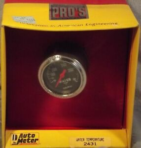 Autometer 2 Inch Mechanical Water Temperature Gauge Kit 2431