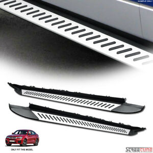 Oe Luxury Aluminum Side Step Bars Running Boards Kit Pair 15 17 Bmw F26 X4 Suv