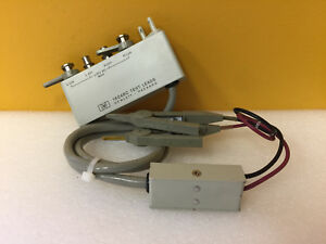 Hp Agilent 16048c 4 Terminal Bnc Test Leads Alligator Clamp Leads tested