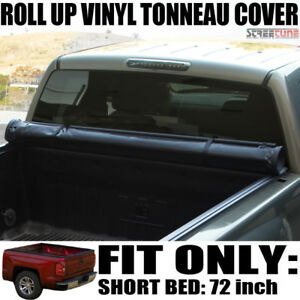 Low Profile Roll Up Tonneau Cover 83 Ford Ranger Styleside Std Ext 6 Ft 72 Bed