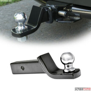 1 7 8 Loaded Ball Mount W trailer Ball hitch Pin Clip For 2 Tow Receiver S06