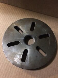 South Bend Lfp 100n Face Plate 7 5 16 Diameter 1 1 2 8 Tpi Thr Metal Lathe