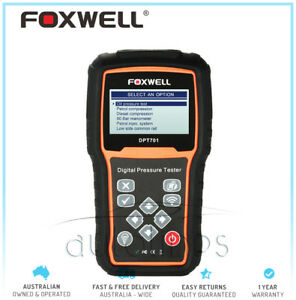 Foxwell Dpt701 Car Engine Compression Measure Fuel Oil Pressure Tester Petrol
